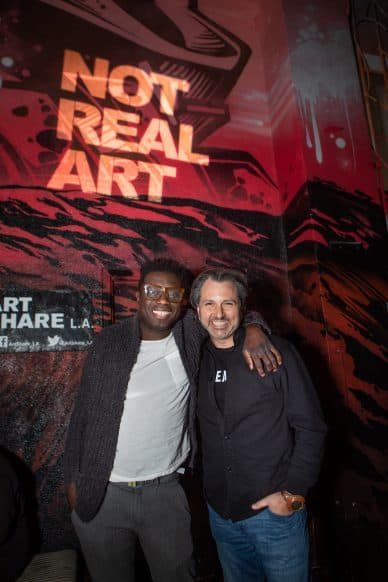 Ayana Founder Eric Coly with Sourdough, Creator of Not Real Art
