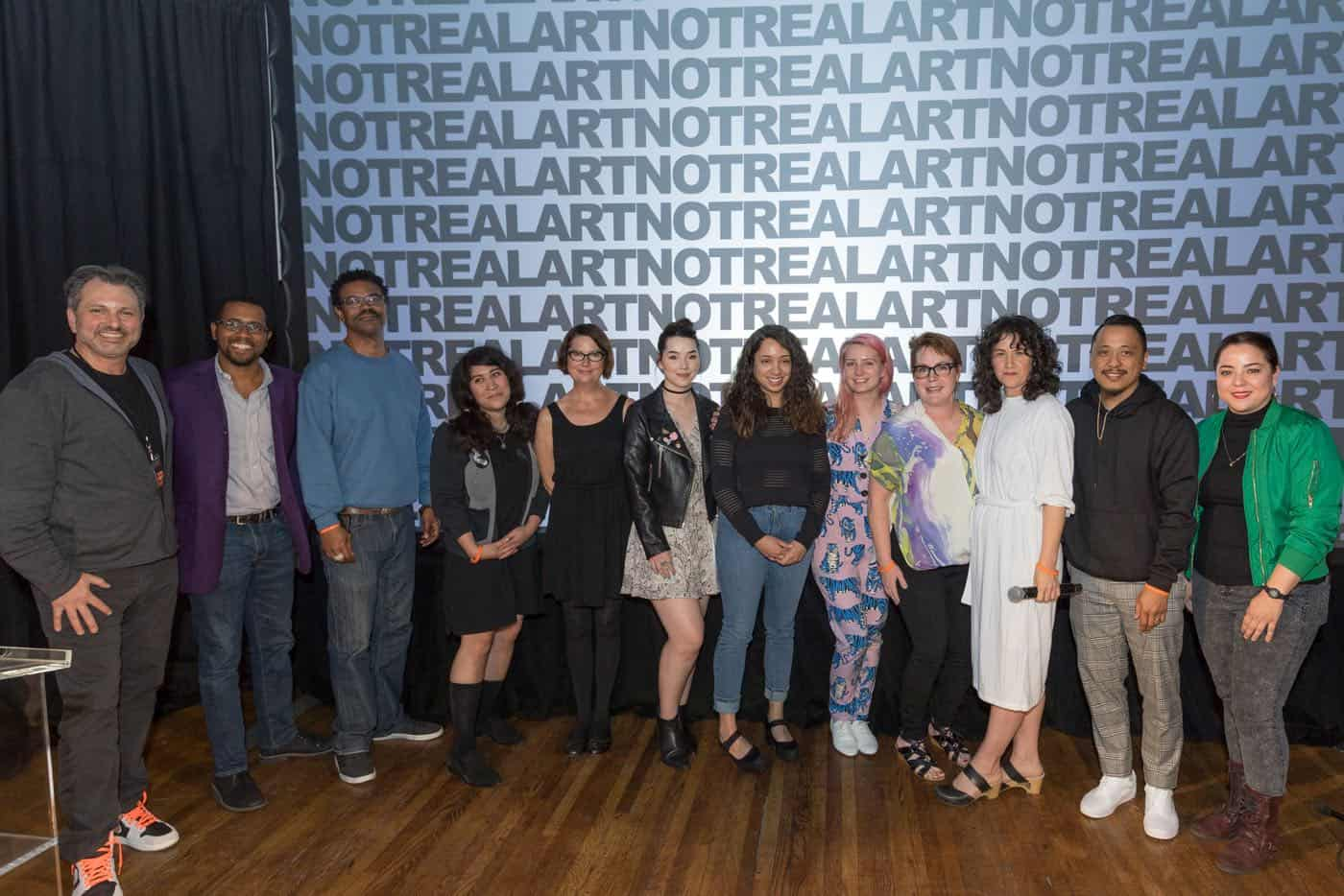 Not Real Art Grant Recipients