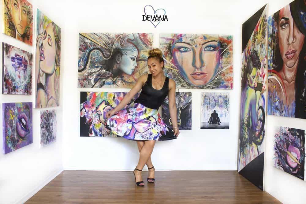 Artist Devona Stimpson