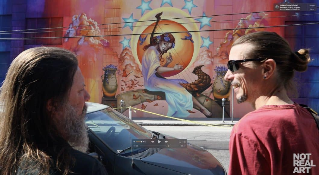 Artists RISK and Mear One Commissioned for Beautiful New Street Art Mural in L.A.