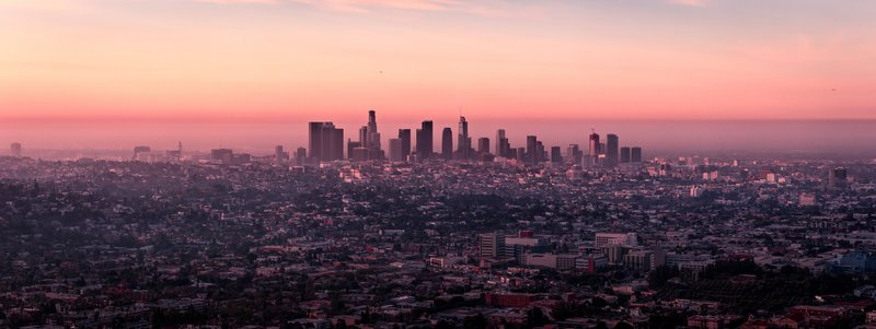 City of Angels, Los Angeles where Mayfair Hotel is located