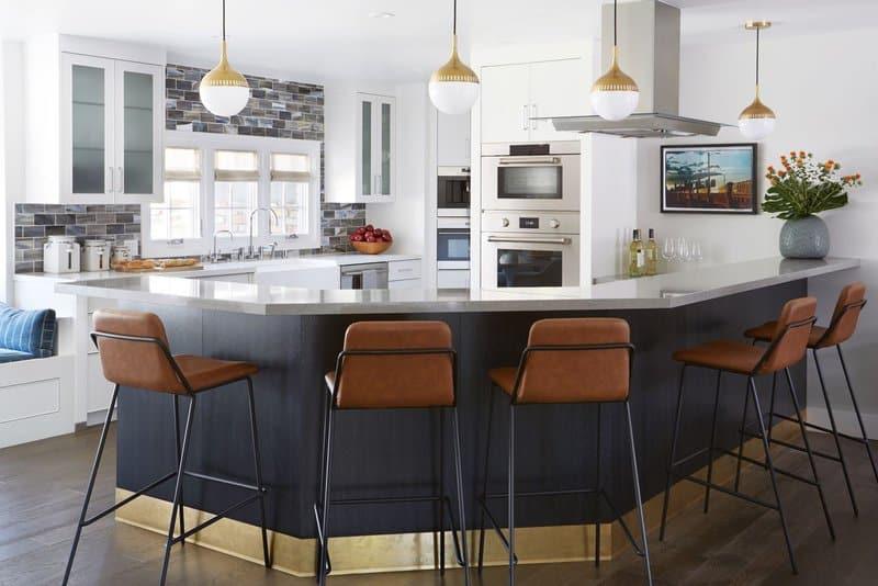 kitchen design by nina hiken for client