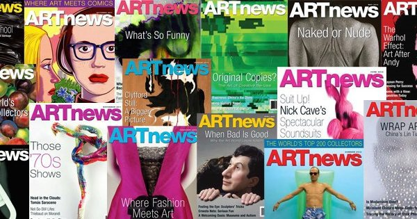 art news cover art