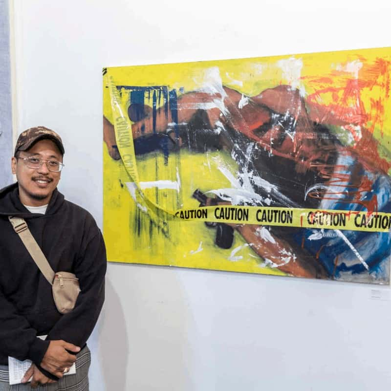 Artist Edmund Arevalo; 2019 Not Real Art Grant Winner