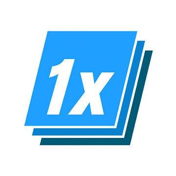 1x Run logo