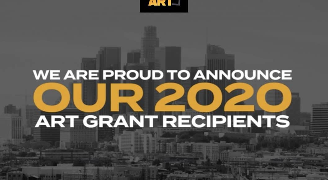 NOT REAL ART Announces Its 2020 Grant Recipients: Breaking News