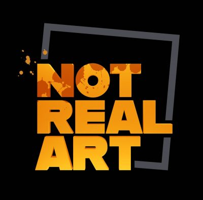 Not real Art Logo 2.0