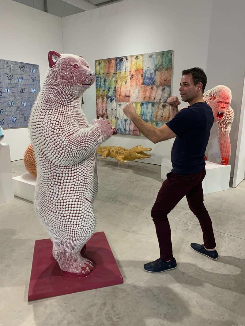 Linc Thelen at Art Basel Miami 2019