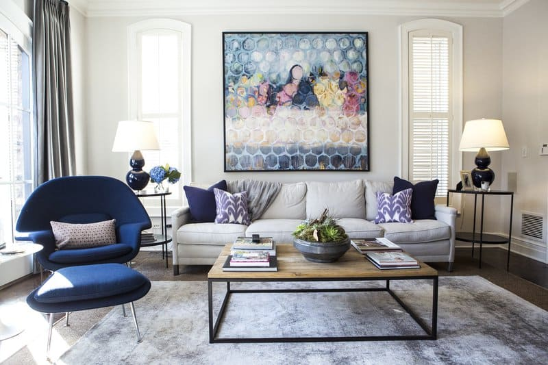 Artwork and interior design by Linc Thelen