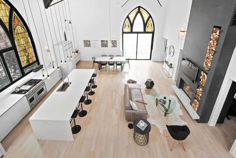Church conversion project designed and built by Linc