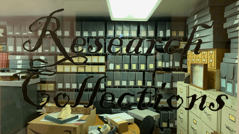 Research Collections Department