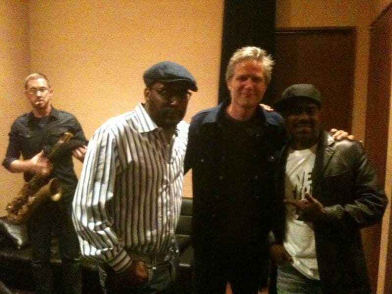 Dan with Big Daddy Kane and Curtis Blow in Japan