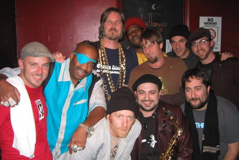 Dan, Slick Rick, Connie Price and The Keystones