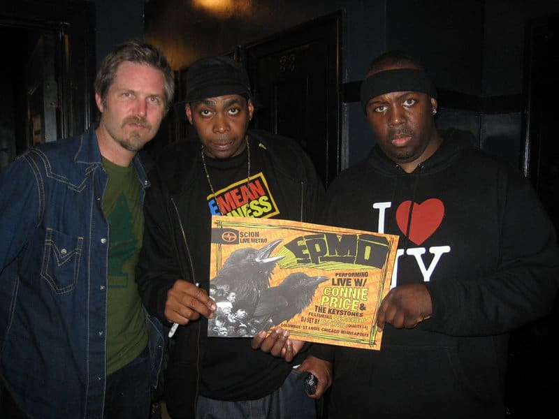 Dan Ubick with EPMD at The Metro in Chicago