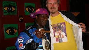 Dan with Flava Flav