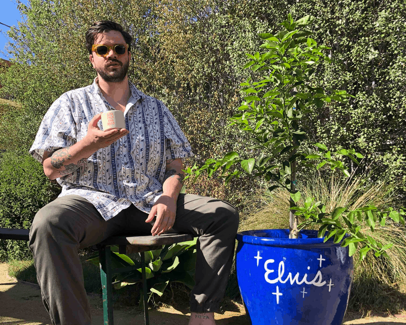 Luke Pelletier + HIs Plant Elvis