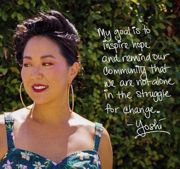 Erin Yoshi founder of Trust Your Struggle
