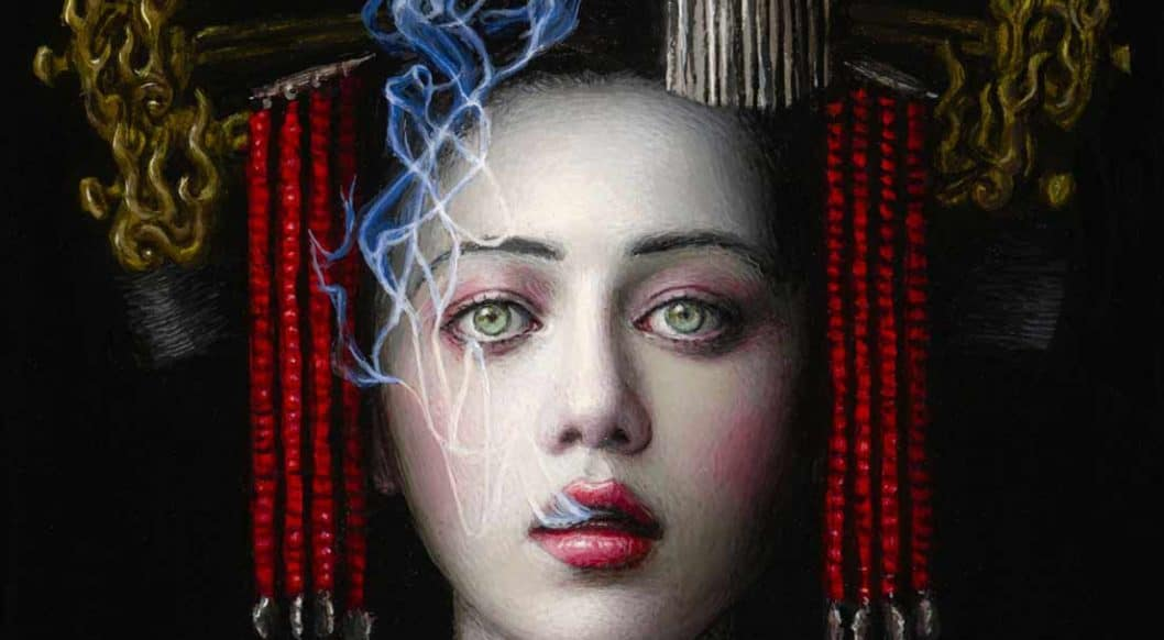 Chie Yoshii's Lush Paintings Bring Mythical Archetypes to Life
