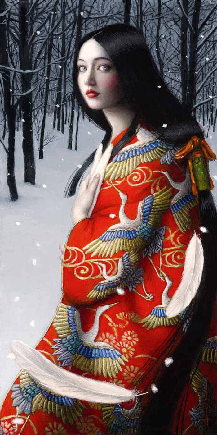 All images courtesy of Chie Yoshii and Corey Helford Gallery