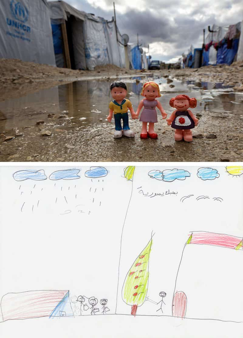 Refugee Camp Life