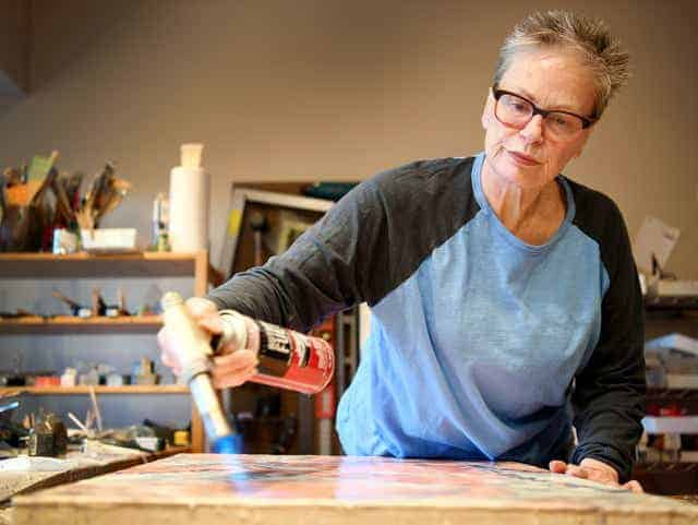 Mary Farmer: The Encaustic Painter Fighting for Social Justice
