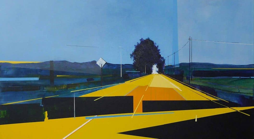 Q+Art: Painter Dimitri Kozyrev Travels Through Real and Imagined Spaces in a Peri-Pandemic Landscape