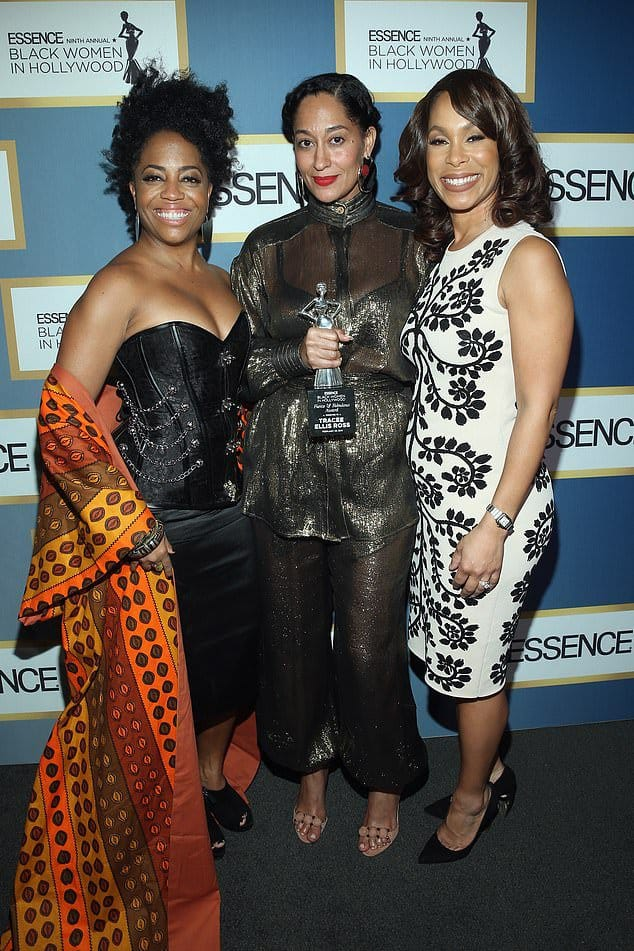 Channing Dungey with Tracee Ellis Ross