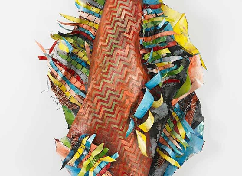 Q+Art: Christina Massey Weaves a Series of Otherworldly Ecological Wall Sculptures