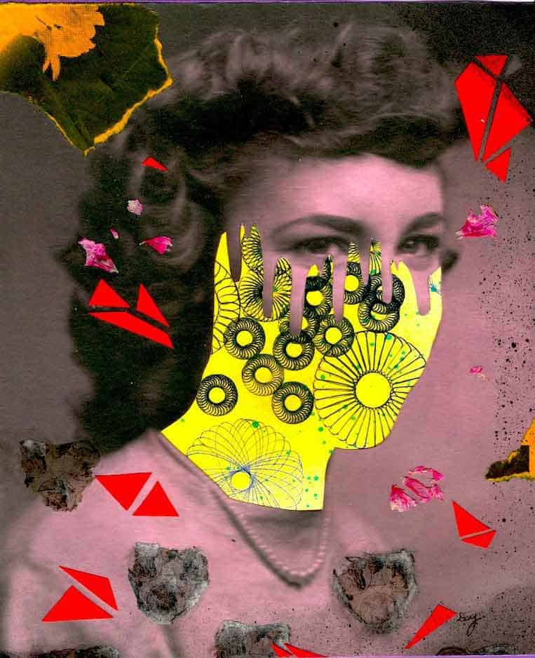Collage Artist Darcy Yates Creates Haunting Portraits From Vintage Photographs