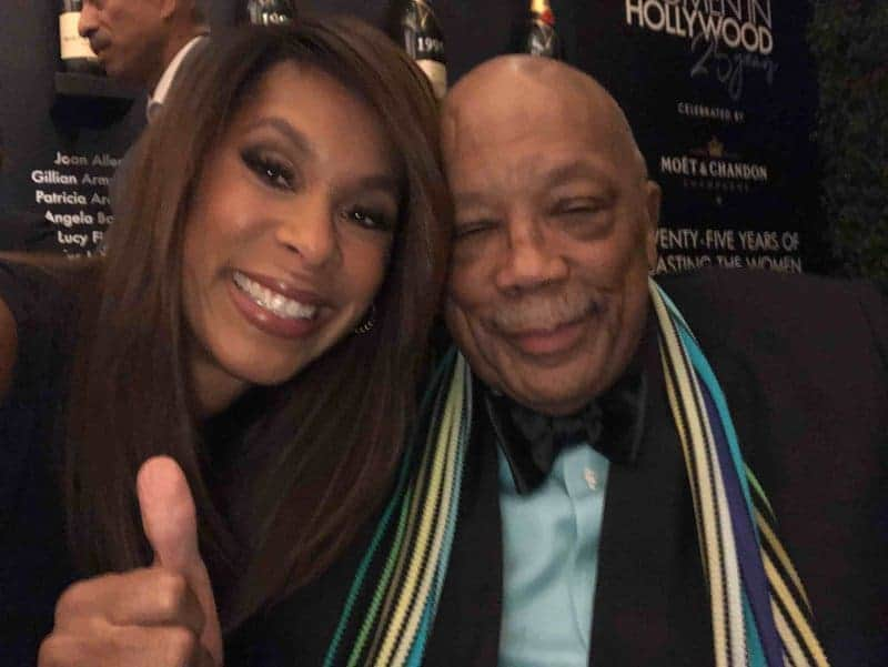 Channing Dungey with Mr. Quincy Jones