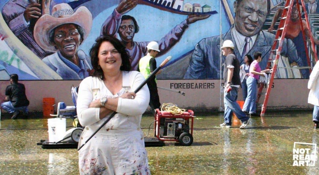 Judy Baca On Public Arts + Murals