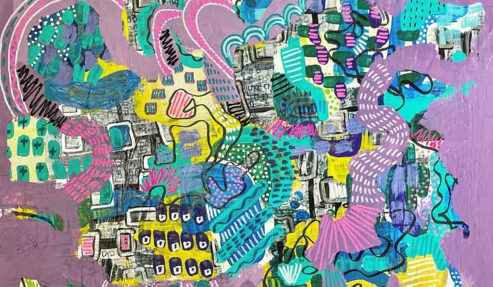 Q+Art: Artist Amy Ilic-Volpe Cultivates Childlike Glee with Bright, Playful Paintings