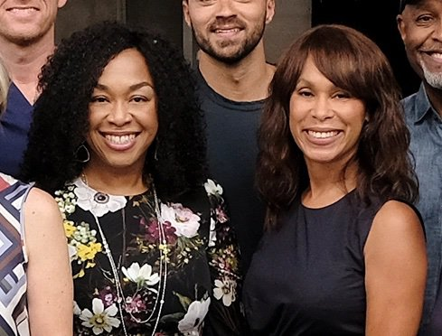 anning Dungey with Shonda Rhimes