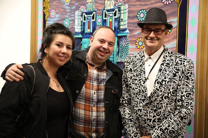 Mr and Mrs Ben Goretsky + Greg Escalante