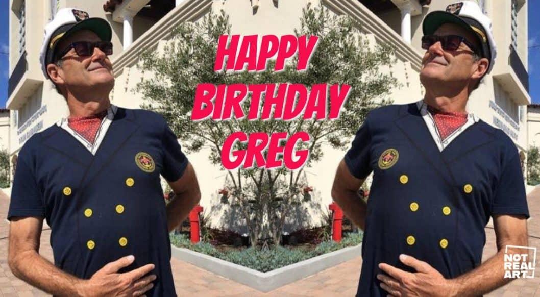 Greg Escalante: Happy Birthday!