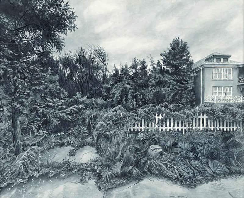 In her Homesickness Series, artist Whitney Sage creates melancholy portraits of suburban Detroit.