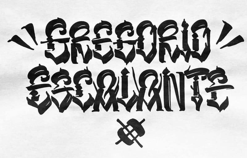 Gregorio Escalante Logo designed by Chaz Bojorquez