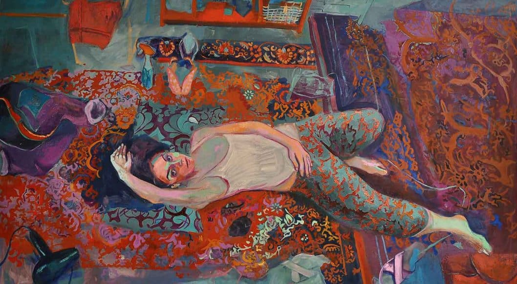 Q+Art: Iranian Painter Shabnam Jannesari Constructs Safe Spaces for Women to Express Themselves