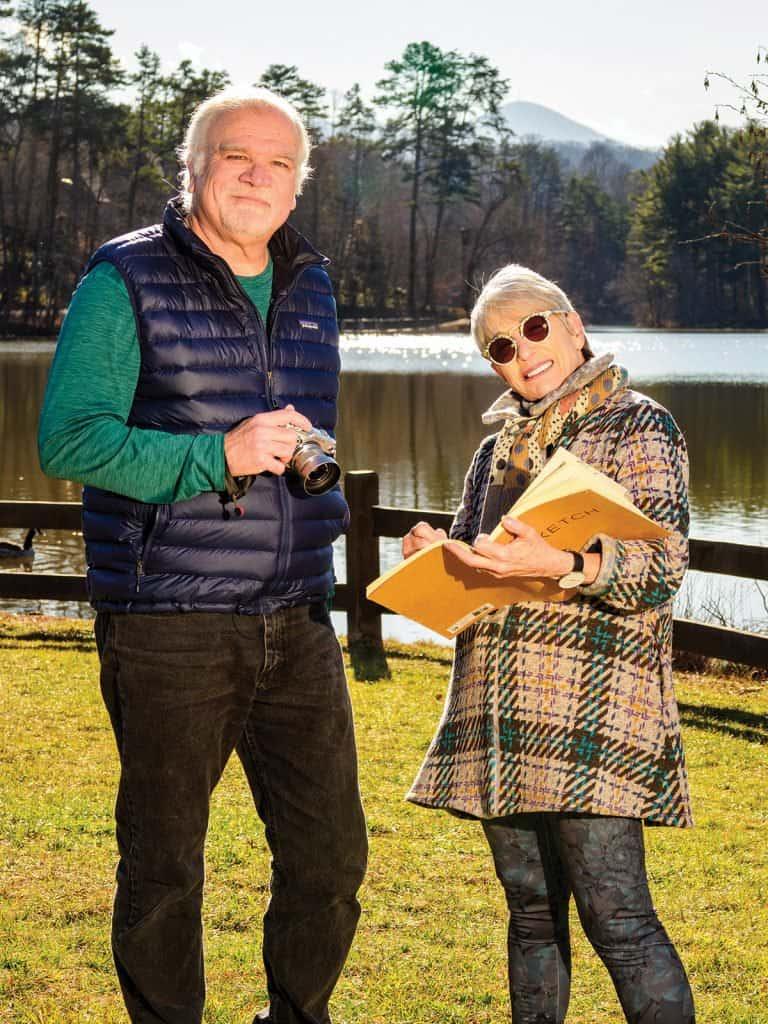 Bob Ware + Louise Glickman of Sand Hill Artist Collective