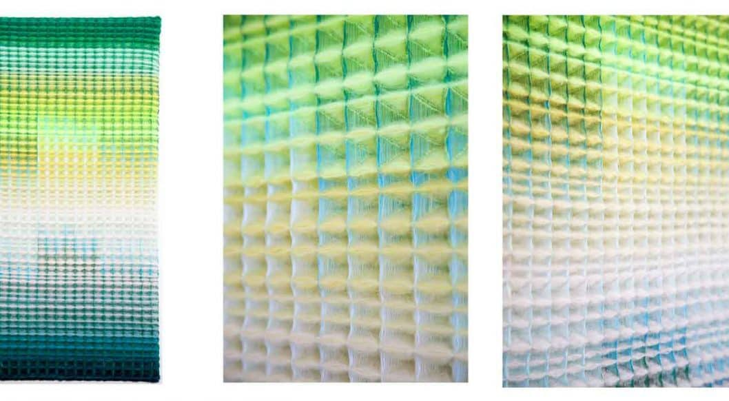 Q+Art: Textile Artist Anya Molyviatis Merges Art and Science with Breathtaking Color Gradients