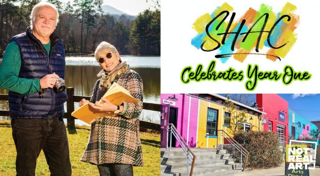 Asheville: Sand Hill Artists Collective with Louise Glickman and Bob Ware