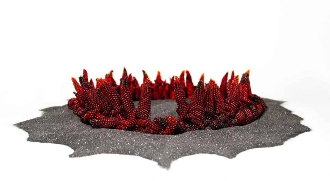 Q+Art: Artist Kathryn Shriver Tempts the Fates with Handwoven Glass Sculptures