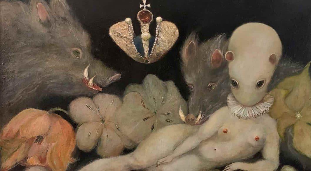 Q+Art: Painter Helen Allois Mines Art History to Create an Alternate Universe