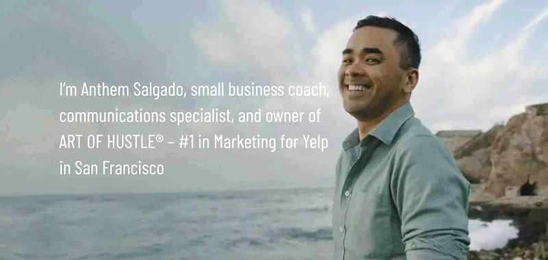 Anthem Salgado, Founder of Art of Hustle