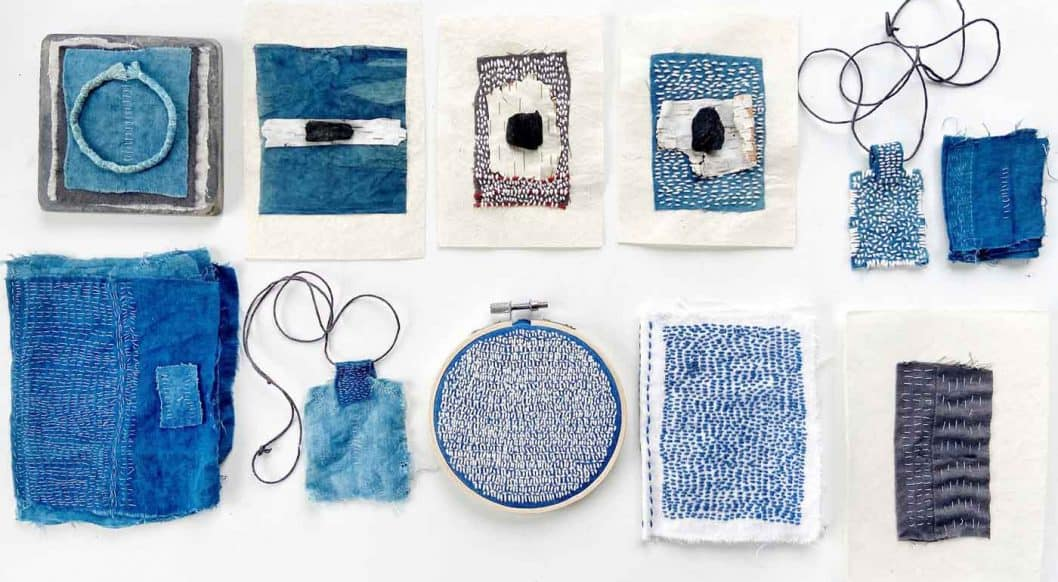 Q+Art: Fiber Artist Emma Freeman Survives Quarantine with Meditative Weavings