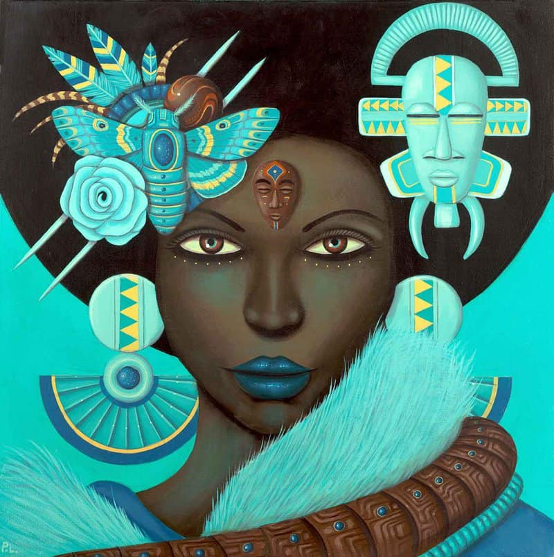 Artist Paul Lewin became deeply interested in the possibilities of a fictionalized universe early in life, fusing a love of fantasy with his Jamaican heritage.