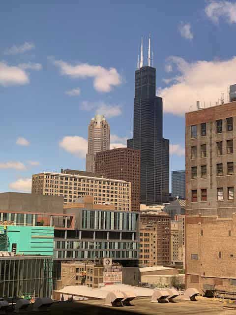 The City of Chicago plays campus for students at Columbia College Chicago