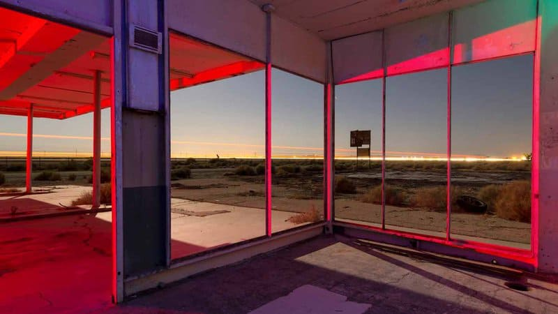 Photographer Troy Paiva treats his discoveries like staged cinematic scenes, borrowing from surrealist filmmakers Brian de Palma and David Lynch to create an eerie vision of modern America.