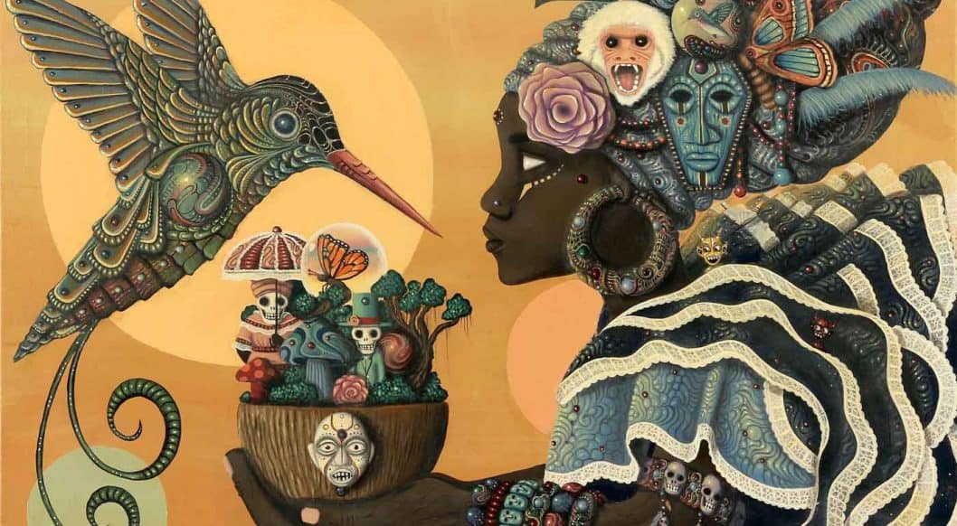 Q+Art: Painter Paul Lewin Imagines Black Futures by Looking Into the Past