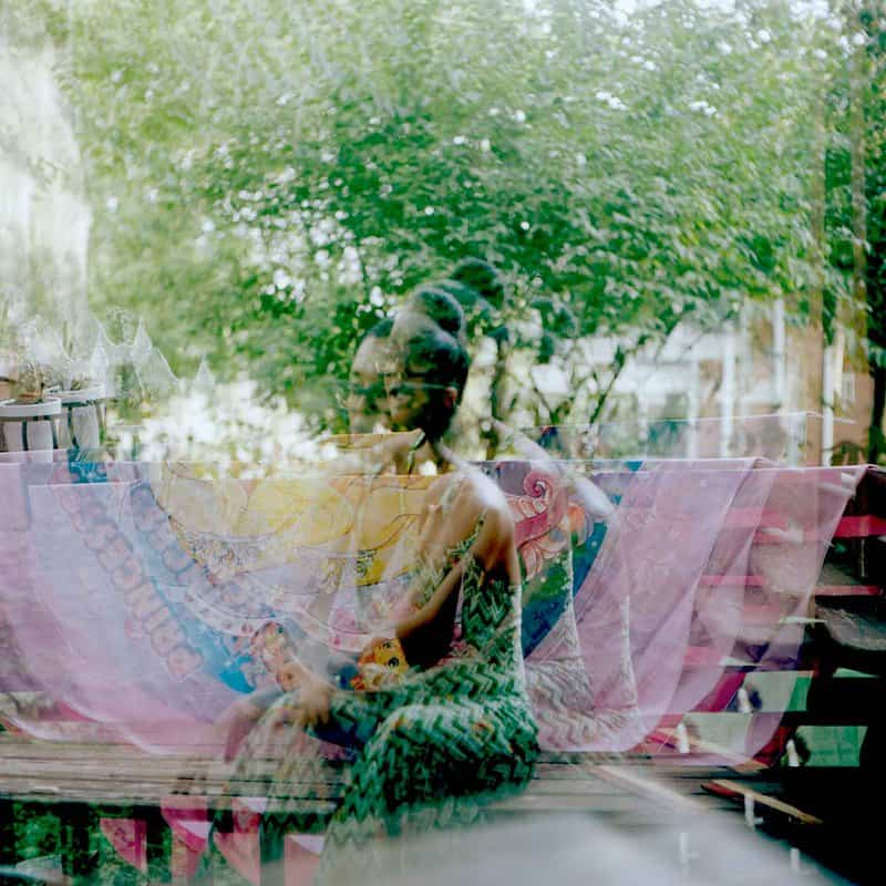 Tiffany Sutton's narrative-based photographs place Black women and their experiences, however trivial, front and center.